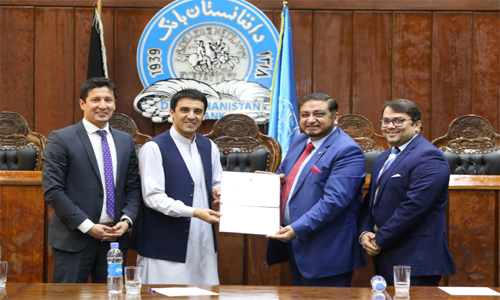 Da Afghanistan Bank issued its first Islamic Banking License