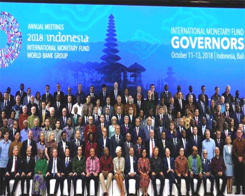 DAB Governor Participates in World Bank and IMF's Annual Meeting